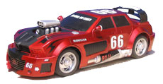 Tuning Monster remote controlled car designed for Majorette
