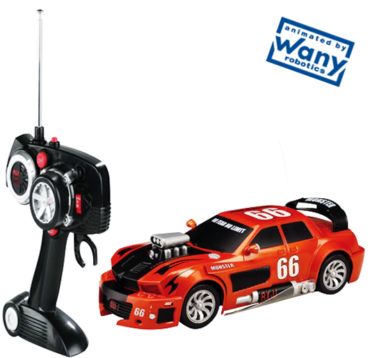 Tuning Monster interactive RC car